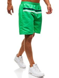 Zelené pánske kúpacie šortky BOLF Y765